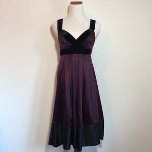 Banana Republic Eggplant Cocktail/Party Dress